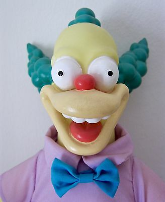 "Vintage Krusty Doll. 11"". The Simpsons. Play By Play. 1993"