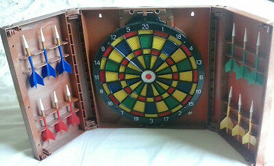 FRANKLIN Dart Board Cabinet  - Excellent Condition!