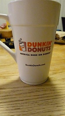 Dunkin Donuts Classic Ceramic Tall Coffee/Tea/Latte Mug 16 oz - 2013