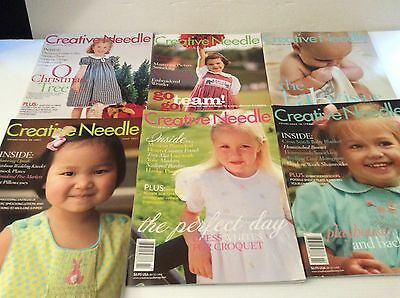 Creative Needle Magazine Lot of 24 Back Issues Complete Years 2001, 02.03.05