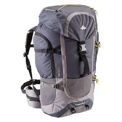 Quechua Forclaz 70L Hiking Camping Water Repellent Backpack Rucksack