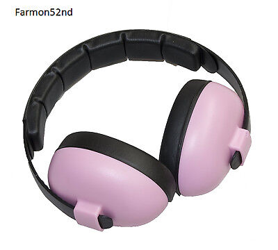 Baby Hearing Protection Ear Infant PINK Harmful Noise