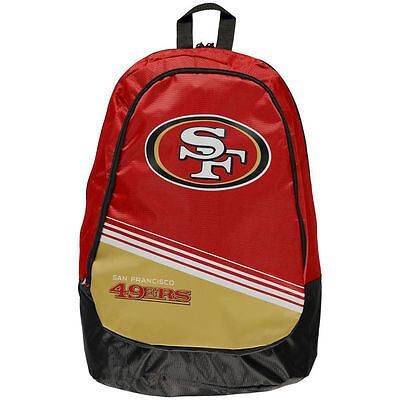 78c5b7e0 NFL SAN FRANCISCO 49ers 2015 Stripe Core Logo Backpack by Forever ...