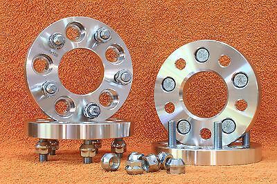 4 Distanziali Wheel Spacers 20mm 5x108 5x4.25 FORD Focus - C Max - Grand C Max