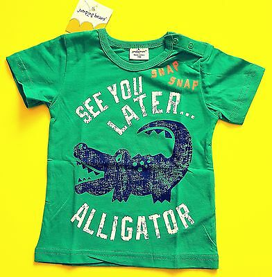 See You Later Alligator Baby Boy Kids Short Sleeve T-Shirt 100% Cotton 18 Months