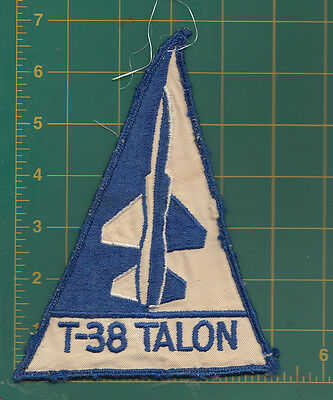 Authentic Air Force USAF  T-38 Talon Blue and White