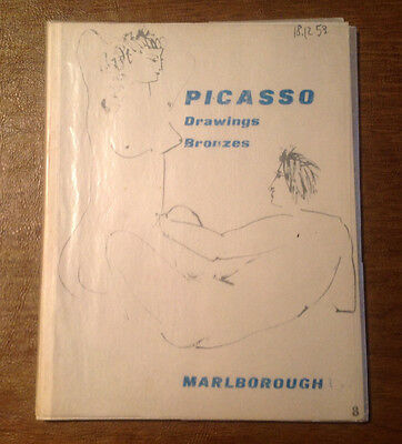 Picasso Drawings & Bronzes 1945 - 1953 Exhibition, 1955 Marlborough Art Gallery
