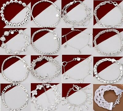 Special offer wholesale Fashion High quality jewelry  925SILVER Bracelet gifts