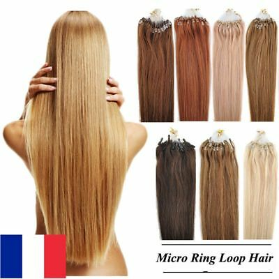 50-100-150-200 Extensions Cheveux Pose A Froid Naturels Remy 53-60Cm 0,5G/1G