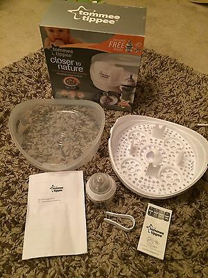 TOMMEE TIPPEE CLOSER To Nature Microwave Steam Steriliser - £10.00 ...
