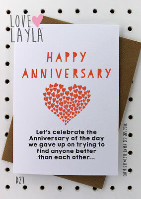 Greetings Card Birthday Card / Comedy/ Love Layla / Funny / Humour / D21