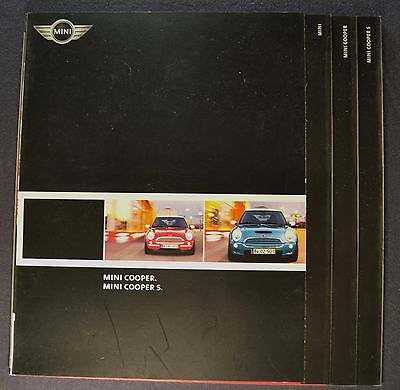 2002-2003  Mini Cooper Sales Brochure Folder S Excellent Original
