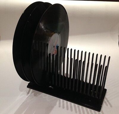 Vinyl Record Drying Rack - Holds 20 LP Records