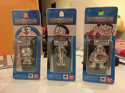 Absolute Chogokin 3 Doraemon characters Diecast New