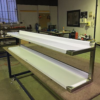 Commercial Grade stainless steel Double wall shelf