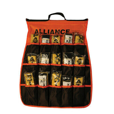 Alliance Touch Rugby Flag Belt Carry Pouch - Holds 30 Flag Belts (Rlafcp)