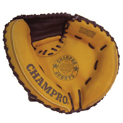 Champro Catcher Youth Left Hand Glove - Genuine Cow Hide (Bacgl444)