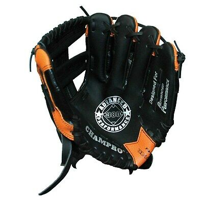 Champro Fielders Glove 11″ - Mvp 380 - Tan / Black - Left Hand Or Right Hand