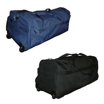 Bas Shadow Cricket Bag - Solid Base With Wheels - Black Or Navy