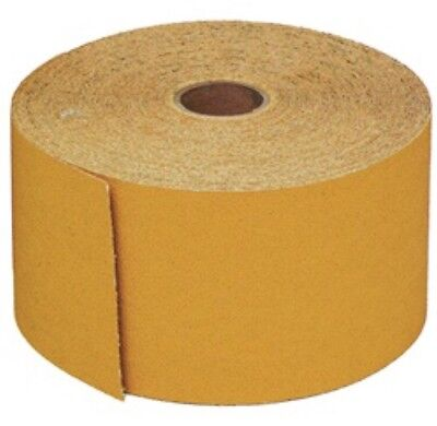 "USC 87109, 150 Grit 2-3/4"" X 25yds Gold PSA Continues Roll, Long Board Sandpaper"