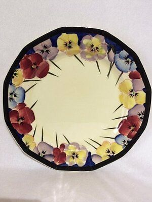 "Beautiful Royal Doulton 'Pansy' 9"" Dinner Plate (D4049)"