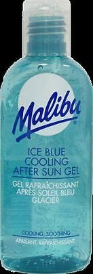 Malibu Ice Blue Cooling After Sun Gel 100ml Soothes And Hydrates