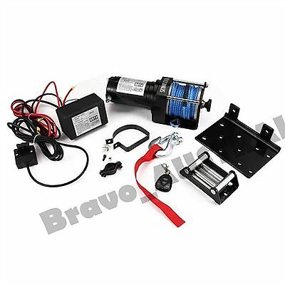 Wireless Electric Winch 12V 3000LBS/1325KGS Synthetic Rope ATV 4WD Boat
