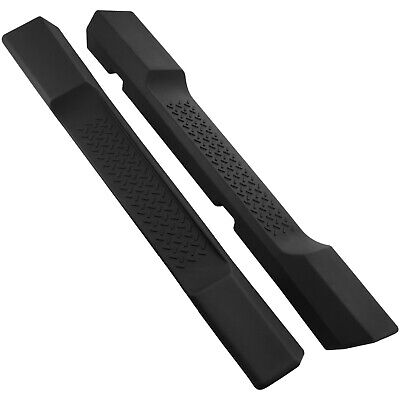 SIDE Step Pedana adatto per JEEP WRANGLER JK 06-17 2 PORTE NERO NERF BAR CE
