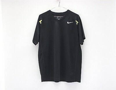Nike Rafael Nadal 2014 US Open Shirt Black - Size Large Rare