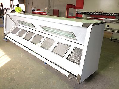 commercial exhaust canopy / Hood 4500mm L x 700mm H x 1000mm D