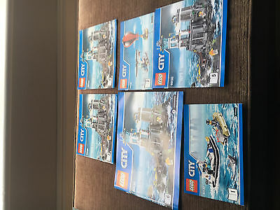 Lego - Instruction Book Only - Set 60130 Lego City Police Prison Island