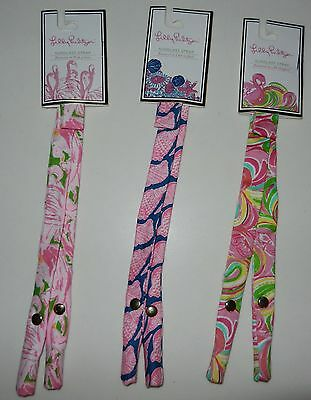 Nwt Lilly Pulitzer Sunglass Strap Choice