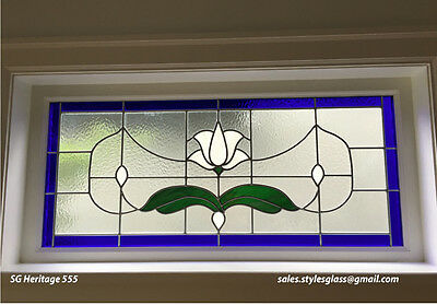 "Stain glass window  19"" x 44 ""   WoW"