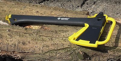 Axe Hatchet Camping Tool (Includes Axe, Fire Steel and Hand Saw) by Ganzo