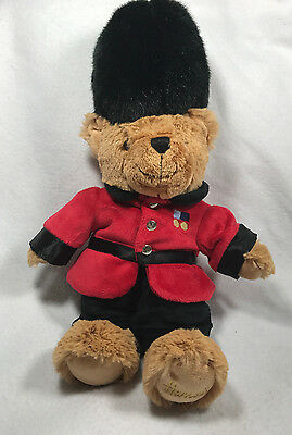 "Harrods Knightsbridge Royal Guard Guardsman 12"" Teddy Bear Beefeater Plush Toy"