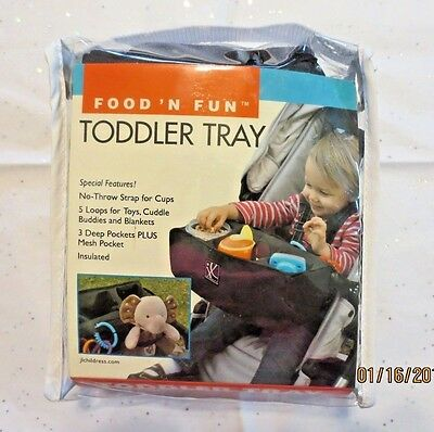 J L Childress Food 'N Fun Toddler Baby Child Tray for Front Stroller Bar