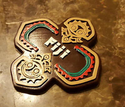 Polynesian Themed Tiki Sign / Plaque - Fiji House