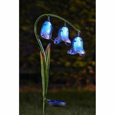 Solar Stake Light | Blue Bell | Smart Solar | LED Bulb Eco Friendly Solar Charge