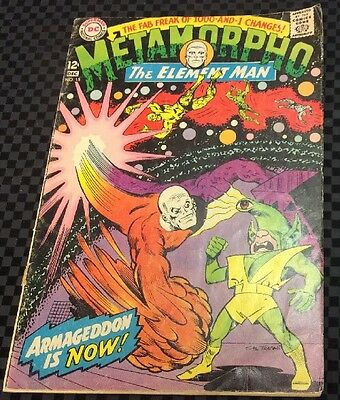 Metamorpho The Element Man #15 DC Comics Silver Age 1960's VG NL