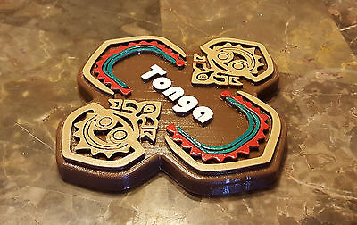 Polynesian Themed Sign / Plaque - Tonga House