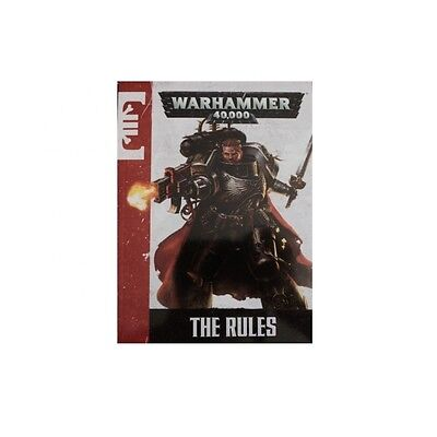 Warhammer 40K A5 RULEBOOK Deathwatch Cover 40K dark vengeance 7th edition