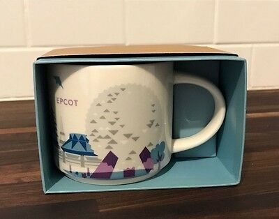 Disney Parks EPCOT You Are Here Mug Starbucks NIB