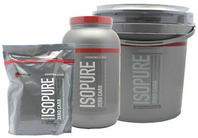 Nature's Best Isopure Zero or Low Carb, Natural - 1 / 3 / 7.5 LBS Variety Flavor