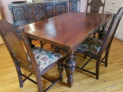 Antique Dining Set - 10 piece