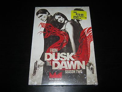 From Dusk Till Dawn: The Series - Season 2 (DVD, 2016, 3-Disc Set) New Sealed
