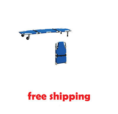 Foldaway Stretcher Ambulance Emergency Medical Rescue Portable Free Shipping