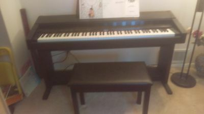 roland kr 3000 digital keyboard electric piano w bench great shape- no shipping