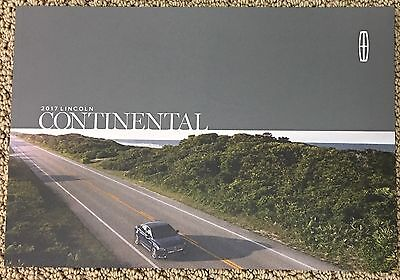 (1) 2017 Lincoln Continental Brochure - New