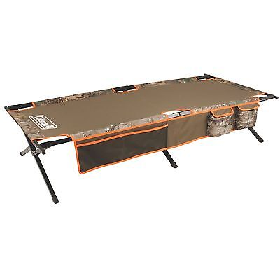 Outdoor Portable Army Folding Military Camping Cot Bed Travel Hiking Beach Brown