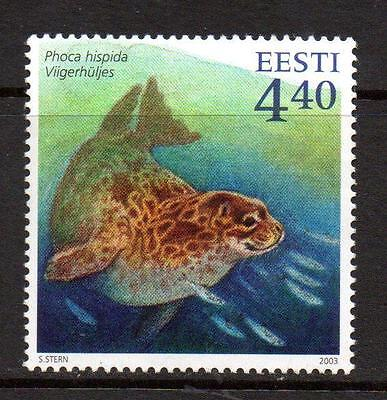 Estonia Mnh 2003 Sg447 Ringed Seal